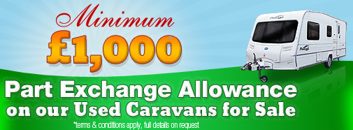 Used Caravans from Swindon Caravans
